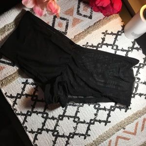 Out from under mesh boy shorts S